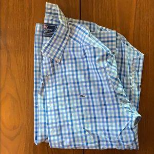 Vineyard Vines slim fit Whale Shirt - M